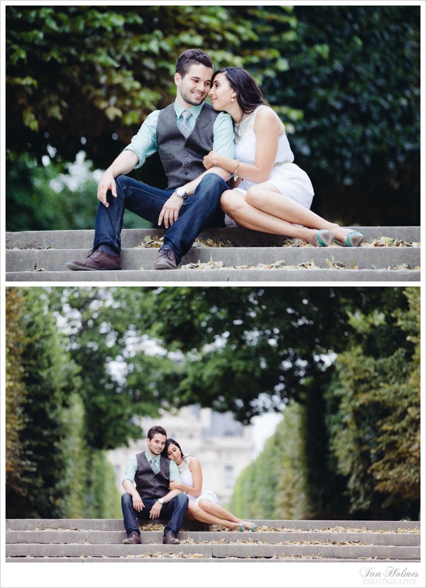 summer romance in paris