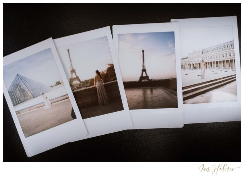 paris polaroids
