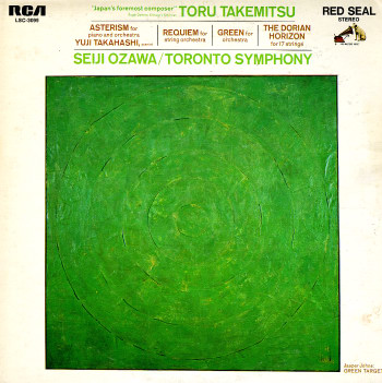 Toru Takemitsu, Asterism, Requiem, Green, Dorian Horizon