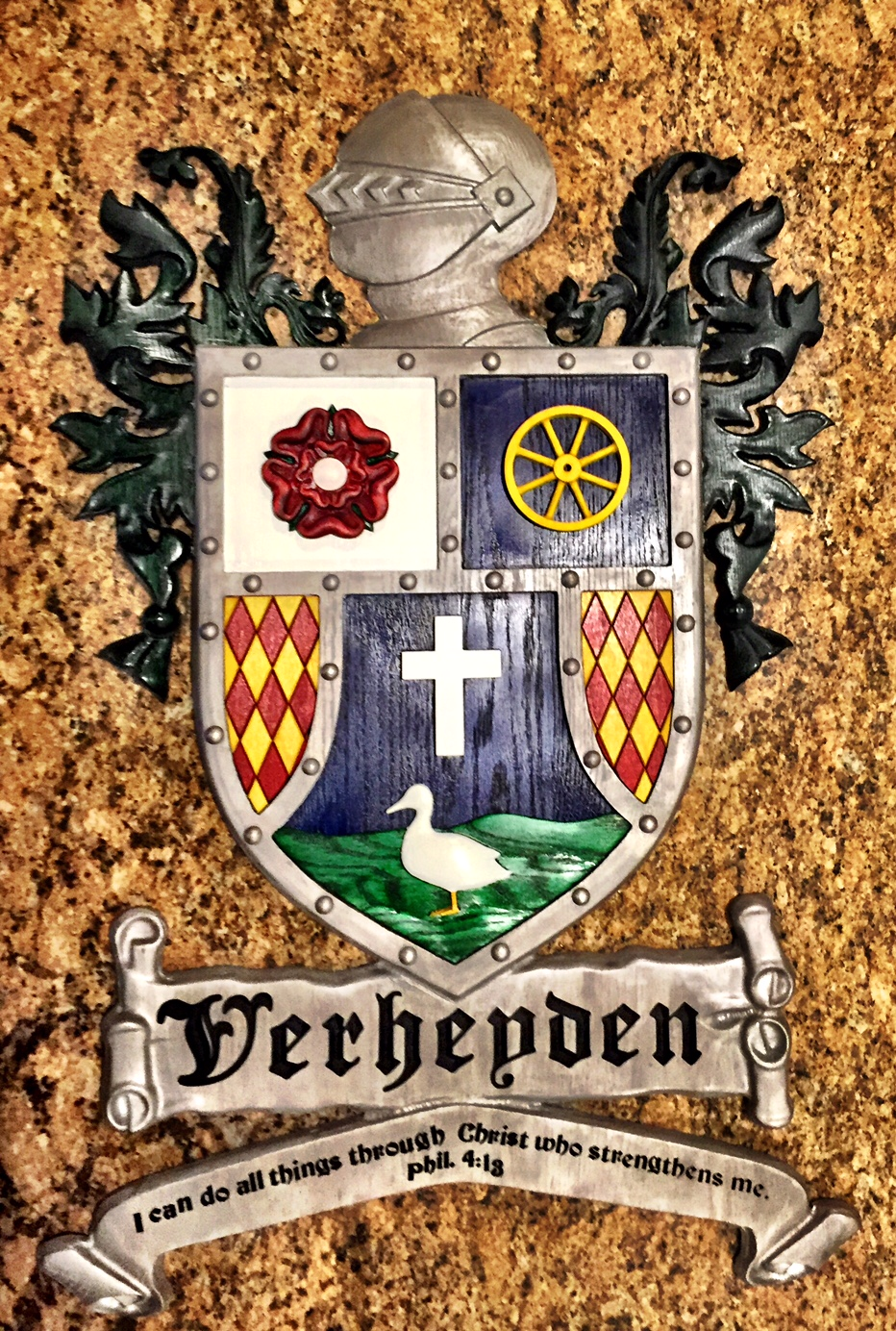 Thanks to   Jevon   for this great Coat of Arms hack!  Check out this  Shop Notes  post for more info.
