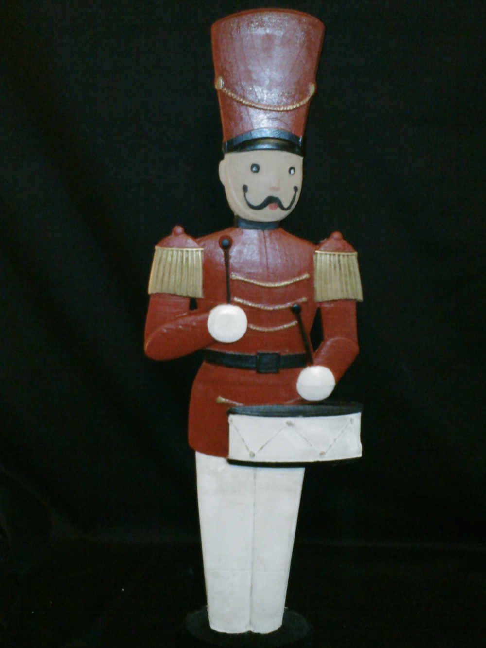 What a great holiday decoration created using the Toy Soldier from the Home for the Holidays No.1 project!