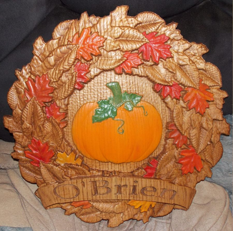 Nice use of the  Thanksgiving No.1  CNC project!