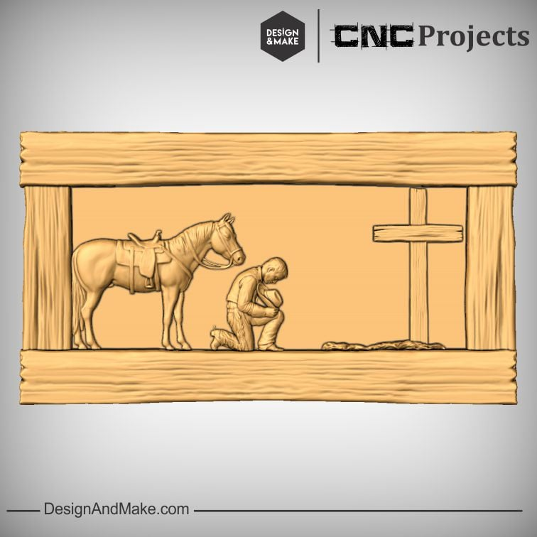 Praying Cowboy and Cowgirl - Assembly No.2.jpg