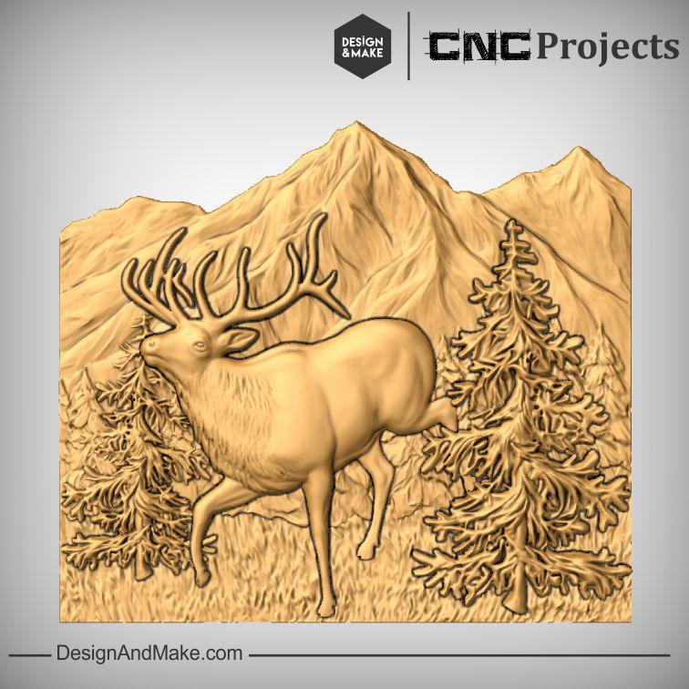Elk Scene - Example No.4.jpg