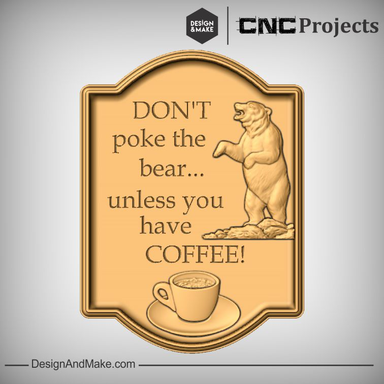 Don't poke the bear unless you have coffee!