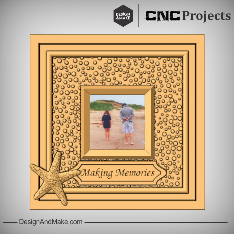 Making Memories Frame - Beach theme