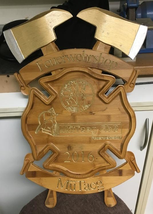 Second plaque.