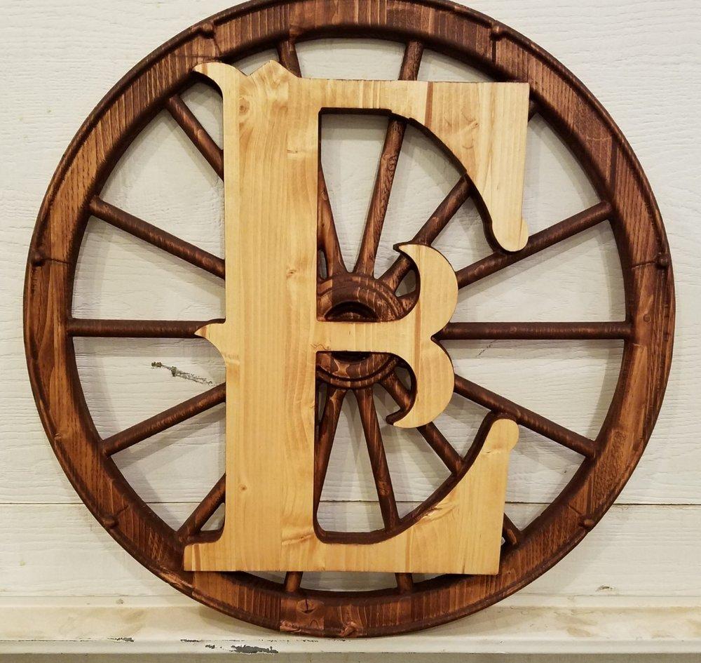2D Initial on a 3D Wheel!