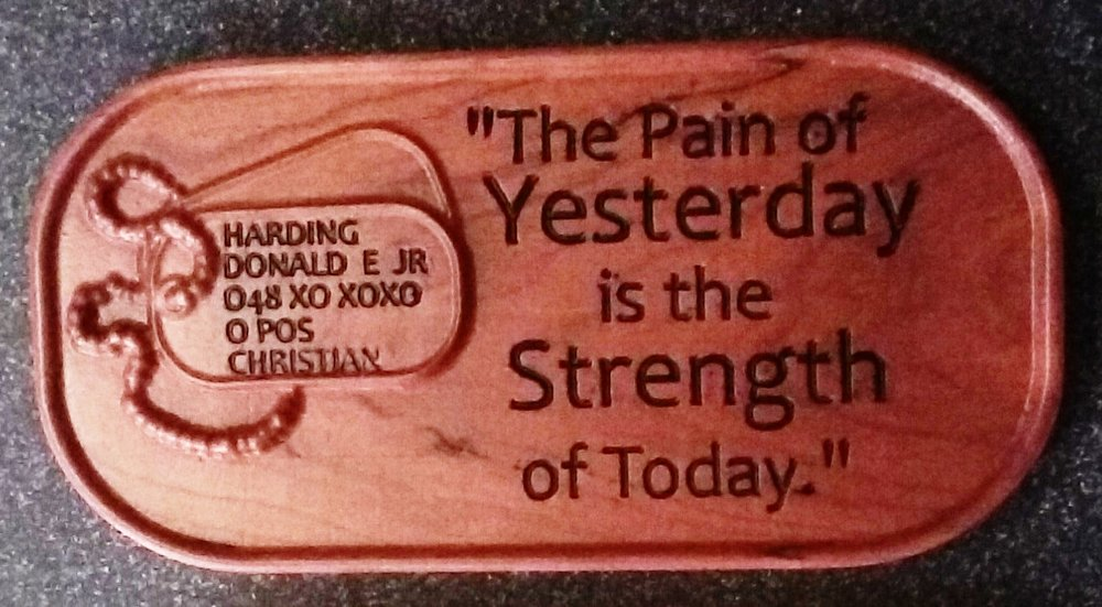 """The Pain of Yesterday is the Strength of Today"""