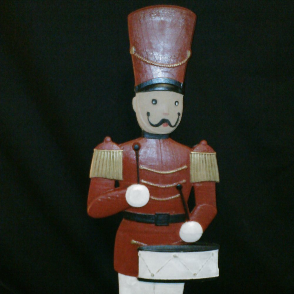 Thanks to Suzanne from Suzanne's Woodworking for this sample of her work using the Toy Solider from this mini-project!