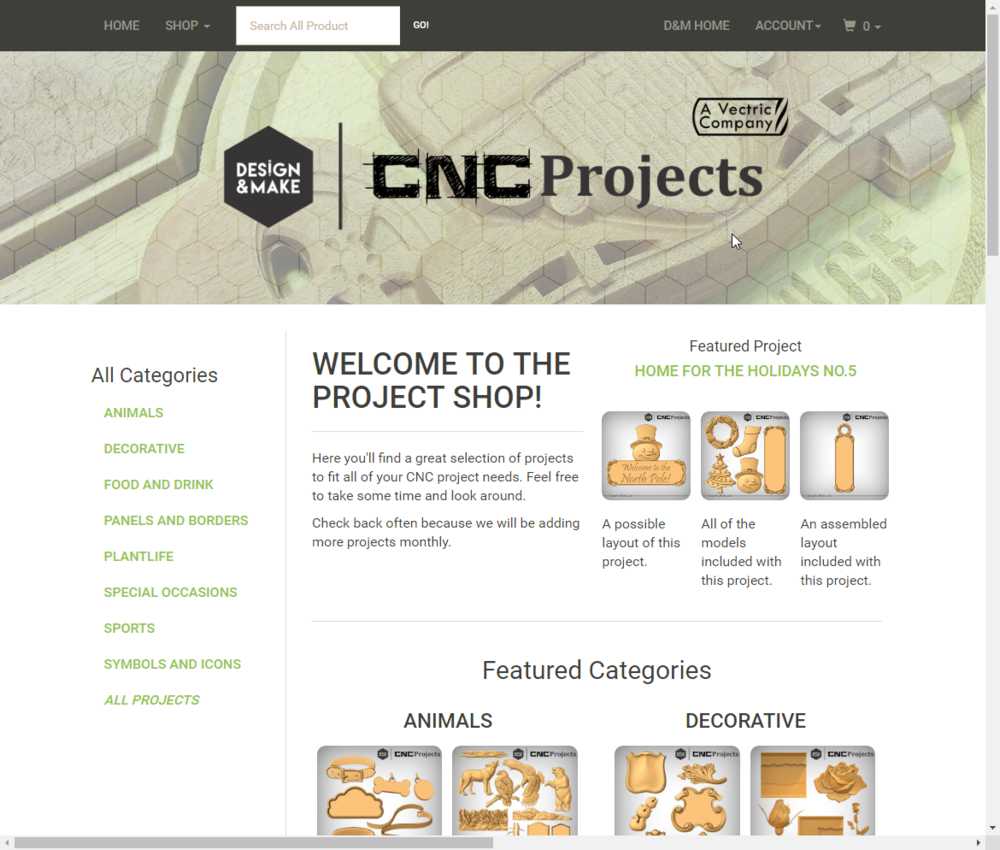 Visit our New Project Shop!
