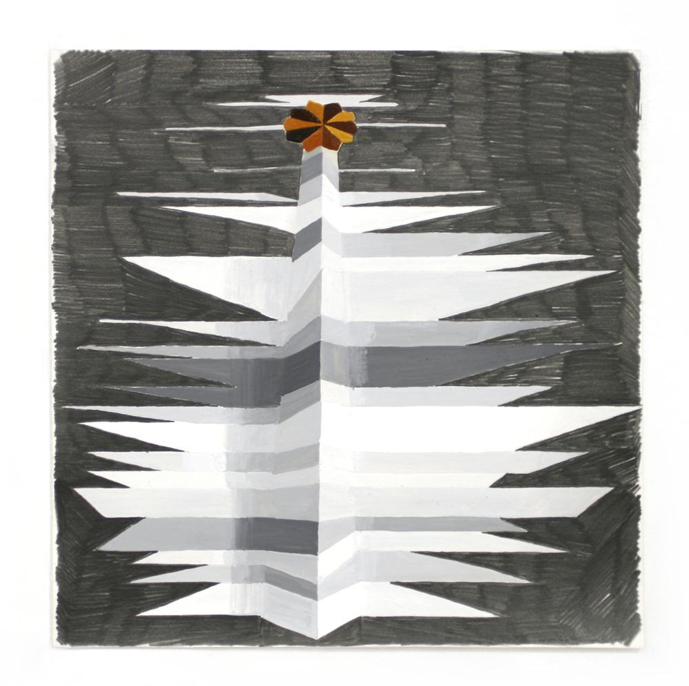 Totem #3 in grey