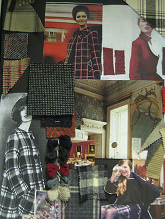 Mood board from Scotland inspiration trip