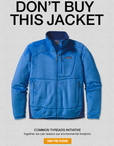 How Patagonia Makes More Money By Trying To Make Less....great article.