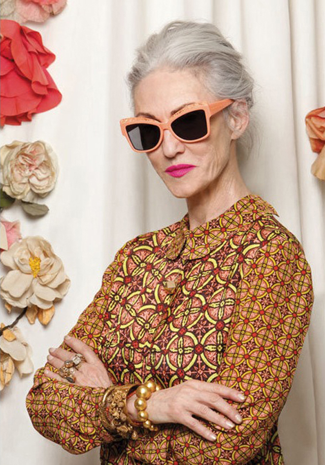 Love this Karen Walker + Advanced Style collab via NeedSupply.