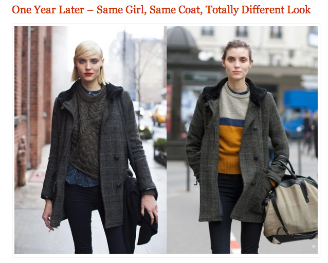 Thought this was really cool, from Sartorialist.com