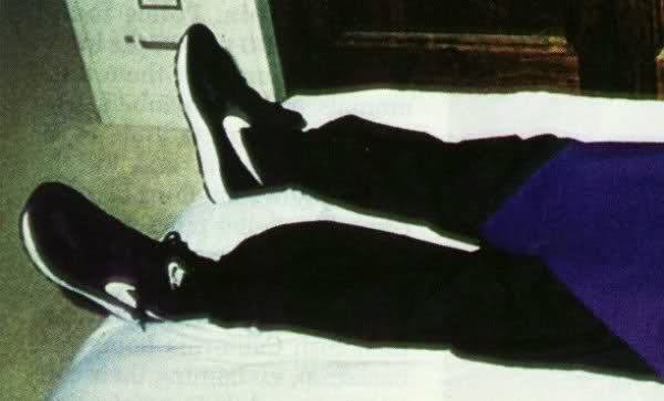 Came across a blog post about the Heavens Gate cult.  The shoes worn by the 39 cult members that committed suicide, Nike Decades, apparently.