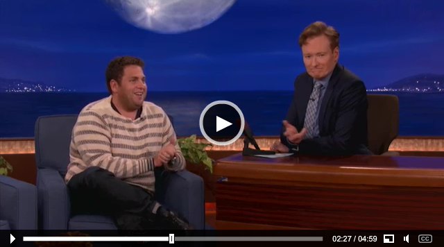 Love Jonah Hill, love this interview, super funny.