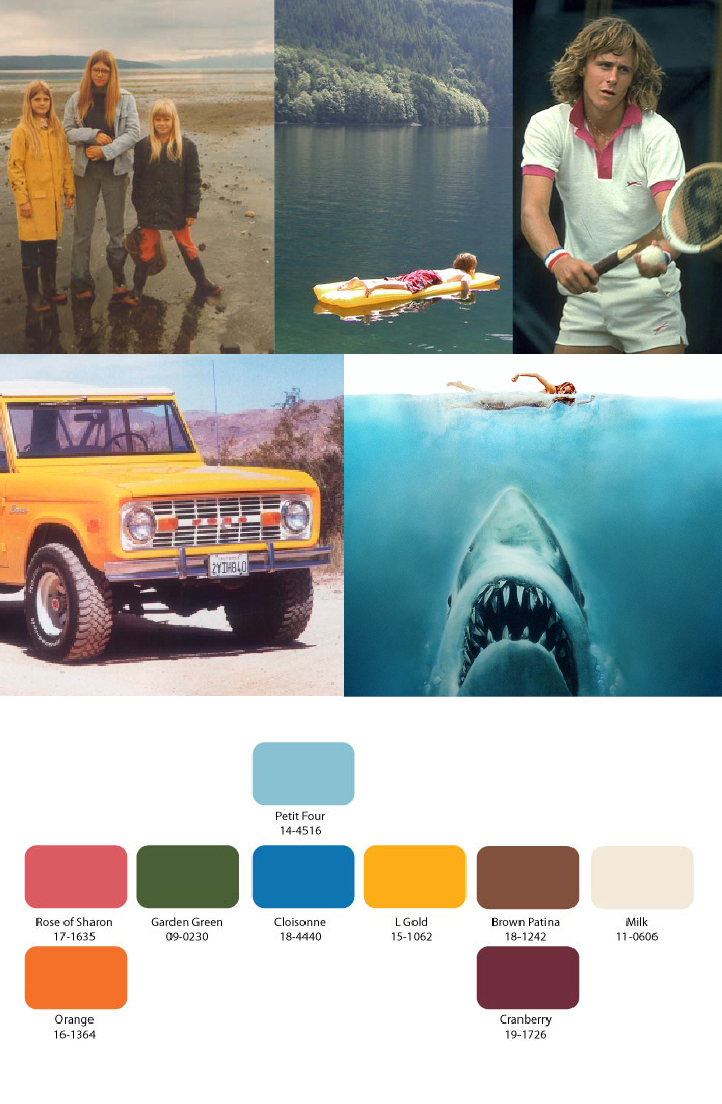 color palette I had done years ago