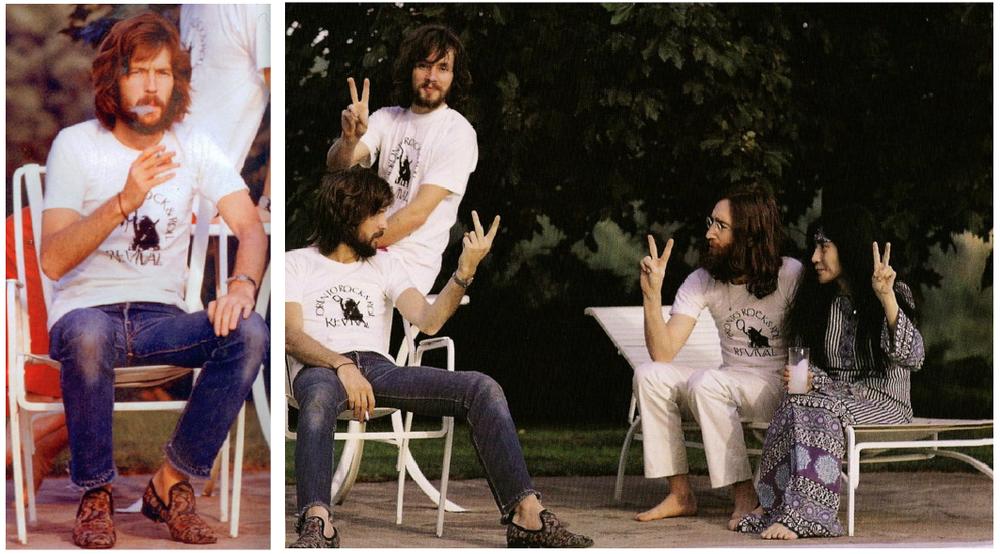 Eric Clapton, John and Yoko