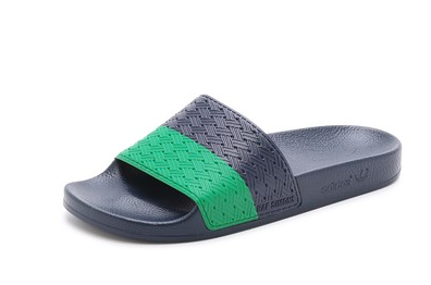 Adidas+Raf Simmons - Adilette Two Tone Sandals
