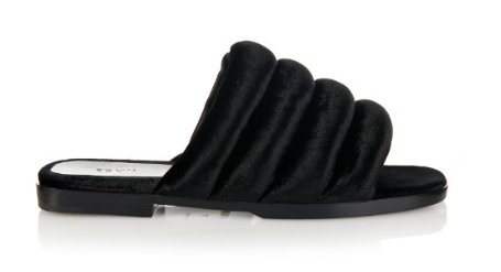 Edun - Slip on Velvet Sandals