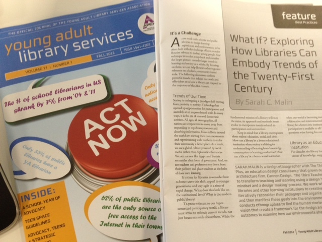Exploring How Libraries Can Embody Trends of the Twenty-First Century