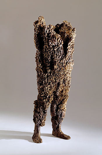 Titan , 2004. Cast bronze: 64 x 24 x 18 in. Courtesy: Marlborough Gallery.