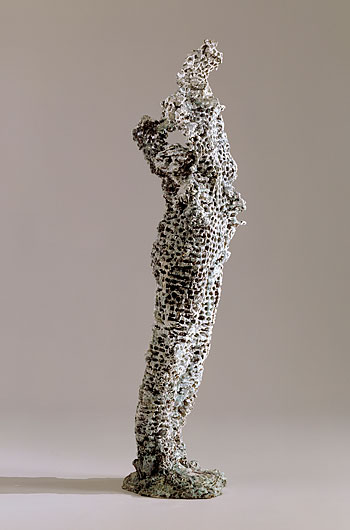 Europa , 2004. Cast bronze: 64 x 17.5 x 13.5 in. Private collection.