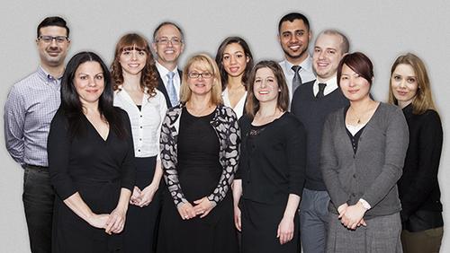 AGL Staff From left to right: Alex Mercado, Maria Frances, Kelly Kramer, Christopher Smith, Helene Smith, Tatiana Houdegbe, Amy Neurauter, Bilal Mahmood, Bryan Clark, Monruedee Chaipaksa, Natalia Balogh