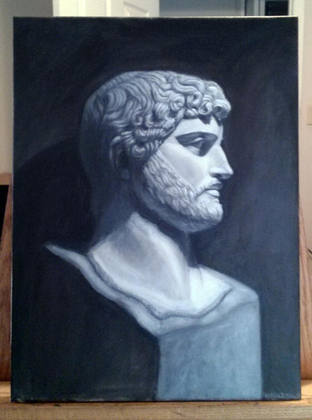 Nick Lasovich- Hadrian Bust Oil Paint.jpg
