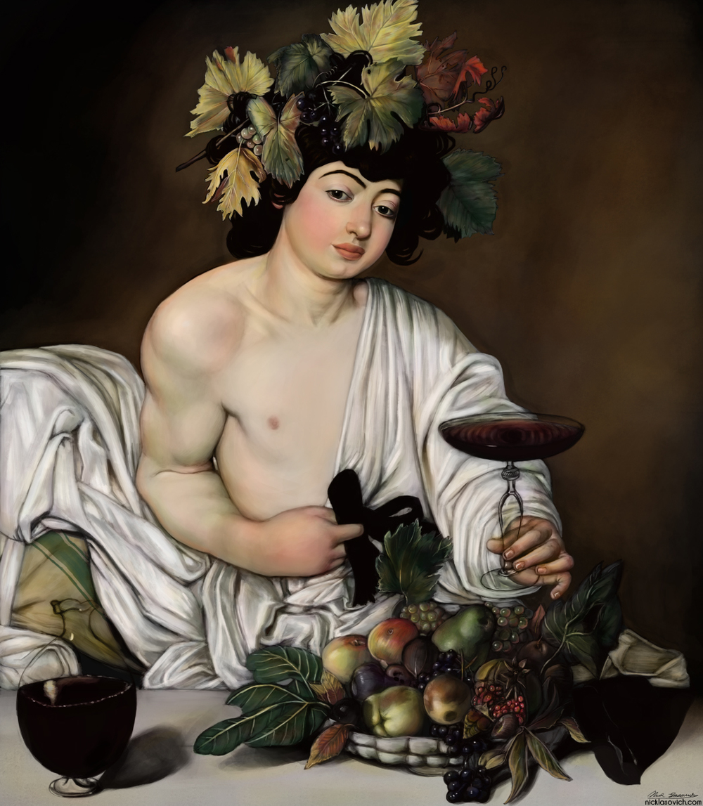 Nick Lasovich Caravaggio Study -Bacchus low.jpg