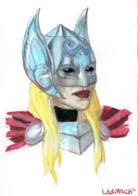 Nick Lasovich- Thor smale gouche paintng.jpg