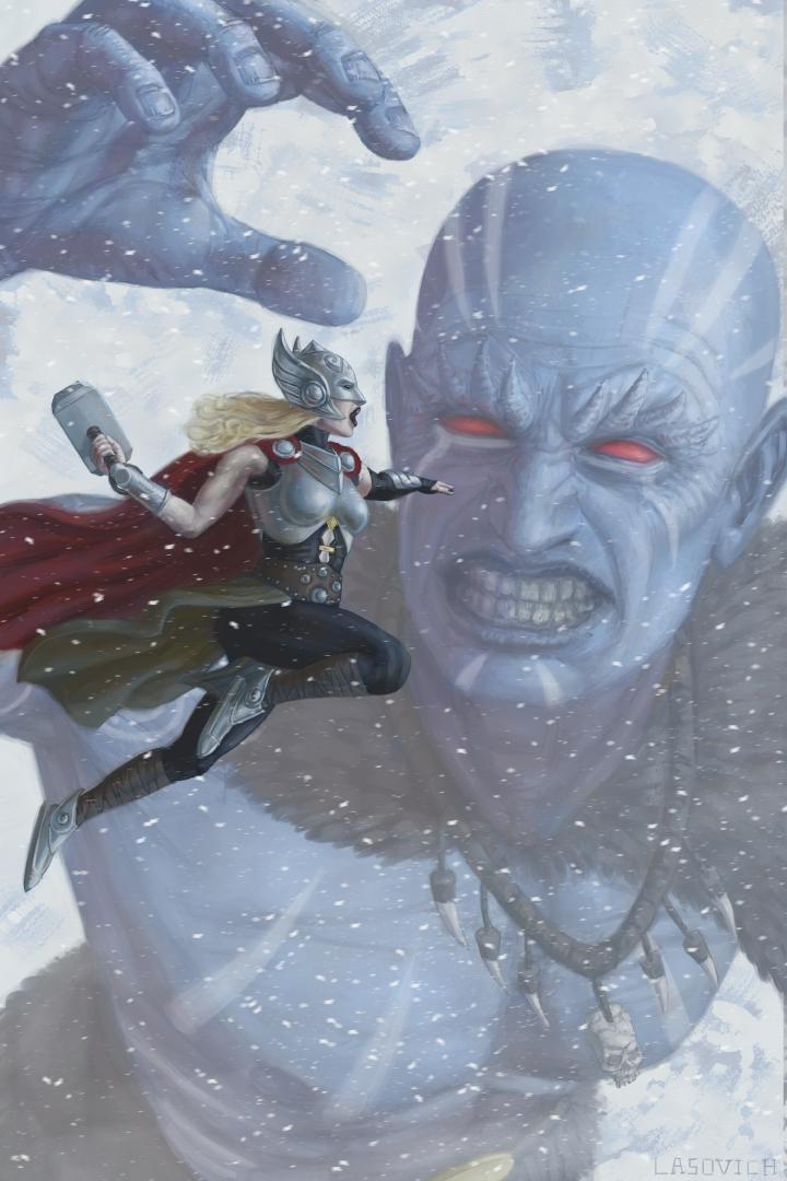 Thor versus Frost Giant!