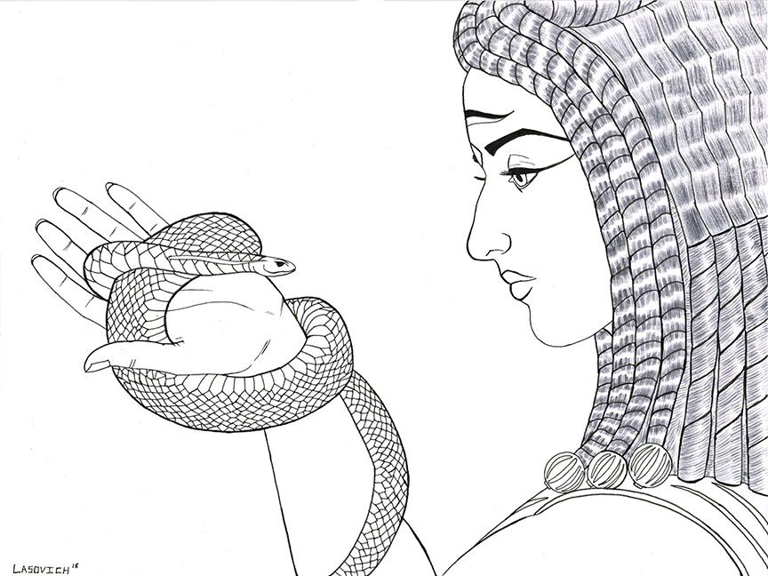 Nick Lasovich-Cleopatra Inktober1.jpg