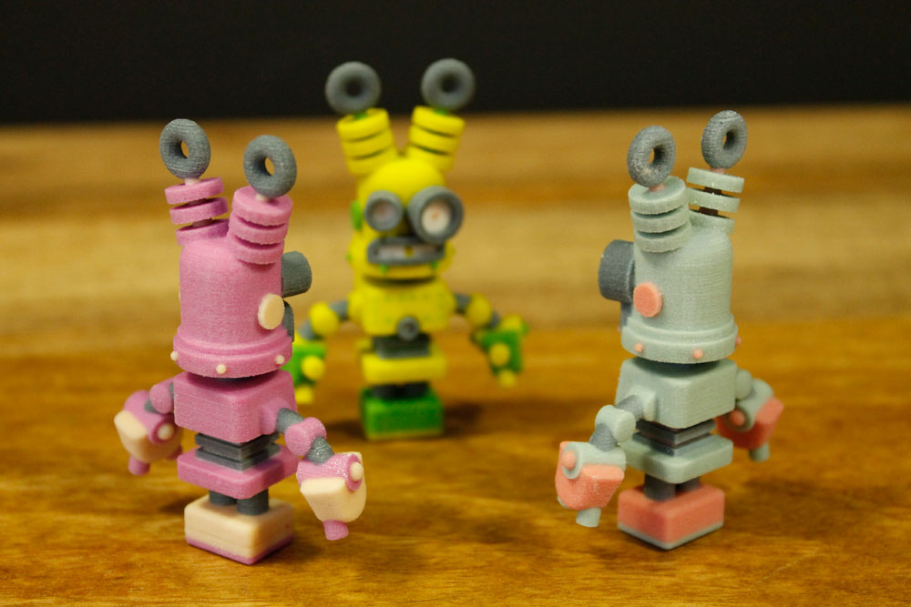 photo regarding 3d Printable Robot named Dr. Fluff Will help By yourself Evolve 3D Published Robots