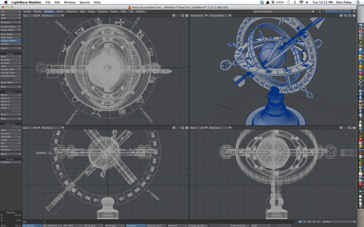 how to use an armillary sphere