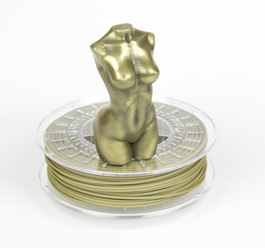 First Copper And Bronze: There's Now Brass 3D Printer Filament