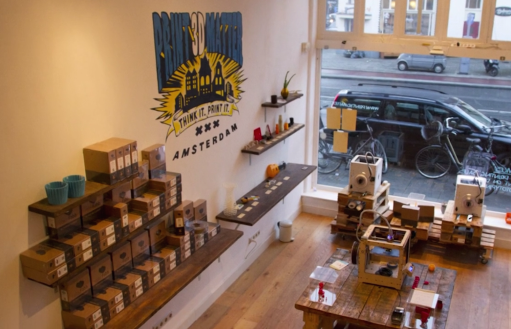 3d Printing Store >> Amsterdam Gets A 3d Print Retail Store