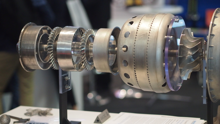 First 3D Printed Jet Engine > ENGINEERING.com