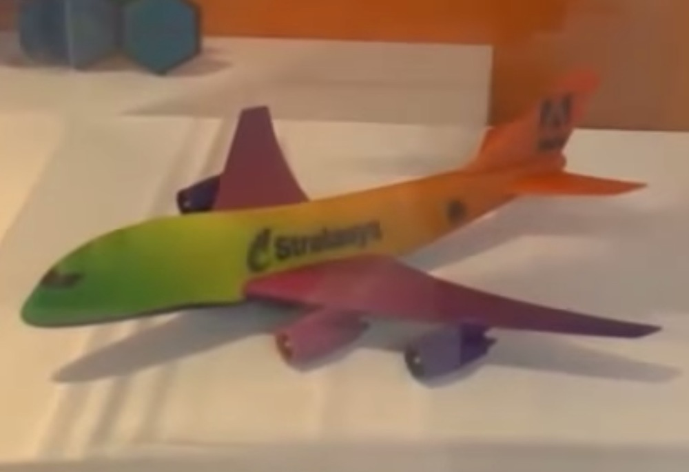 Stratasys Has Taken A Step Towards Full Color 3D Printing By Demonstrating Printed Gradient
