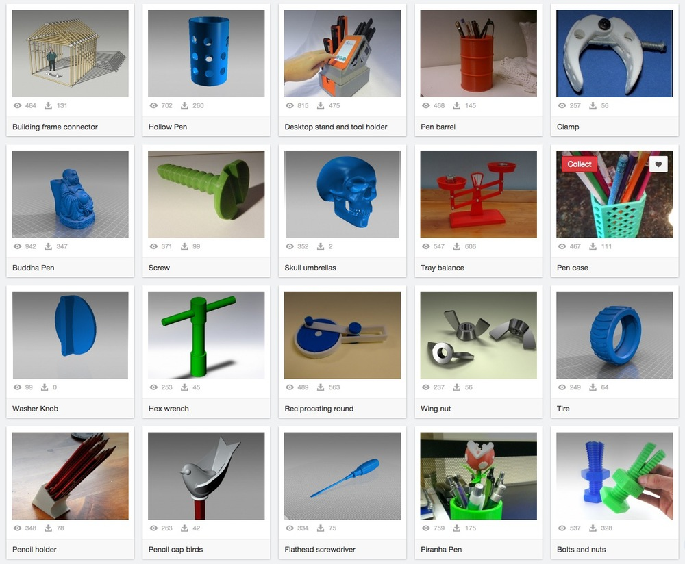 A Large 3D Model Repository You Probably Haven't Tried