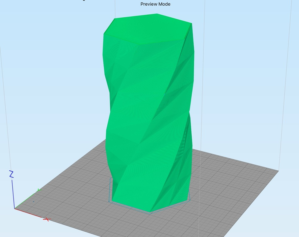 Wait how do i 3d print those incredibly thin vases youll notice that it will appear as a block as shown here in our screenshot from simplify3ds 3d printer management software reviewsmspy