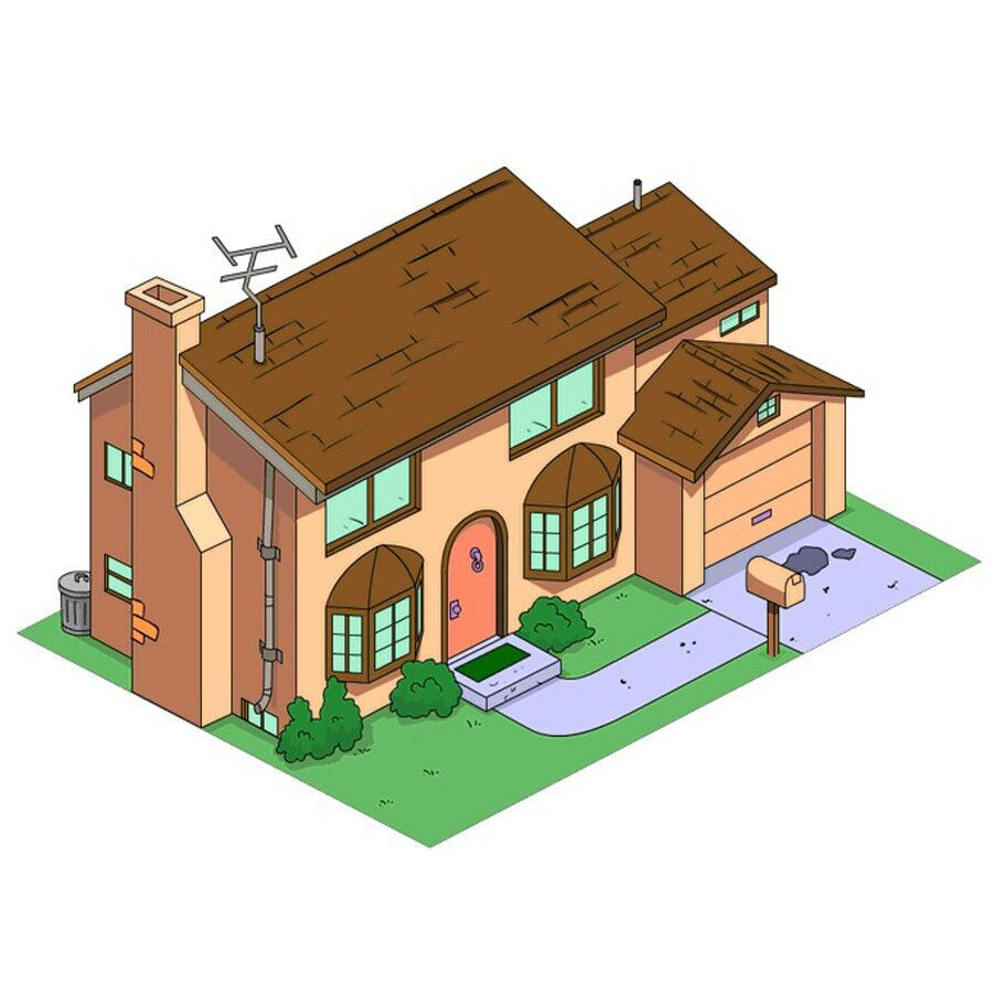 Design Of The Week: The Simpsons House