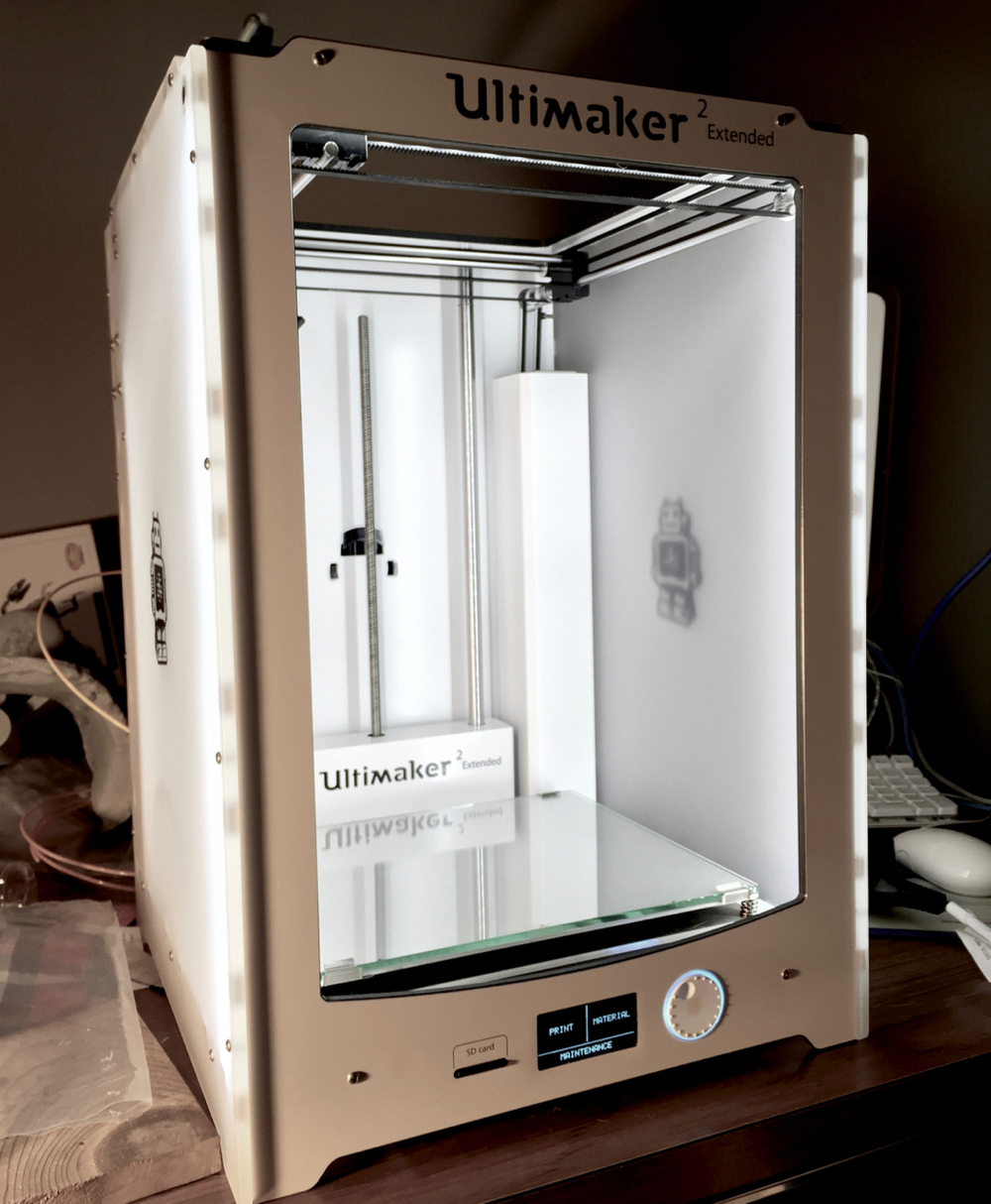 hands on with the ultimaker 2 extended operations. Black Bedroom Furniture Sets. Home Design Ideas