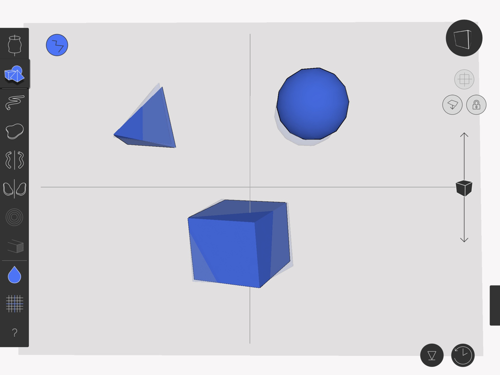 how to create 3d shapes gravit