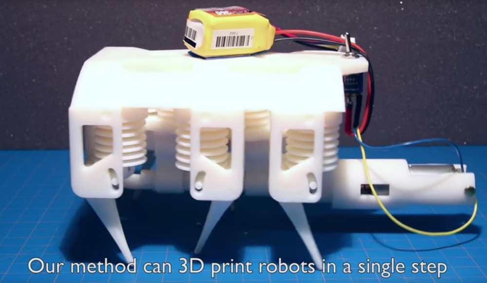 MIT's liquid and solid 3D printed robot