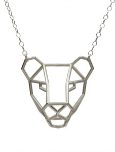 Summer Powell's tiger necklace