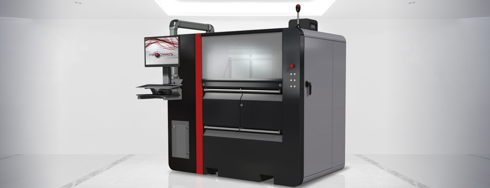 Prodway's industrial 3D printer