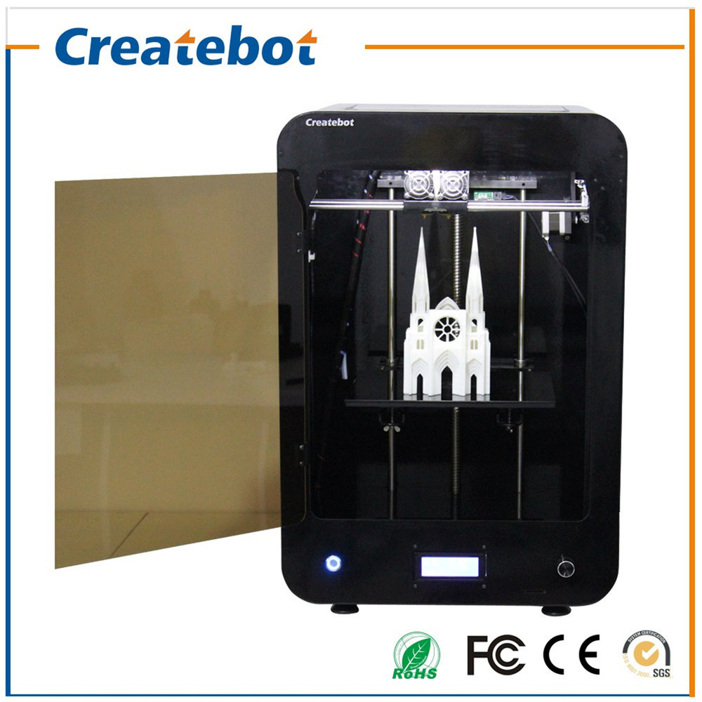 One of the several CreateBot 3D printer models
